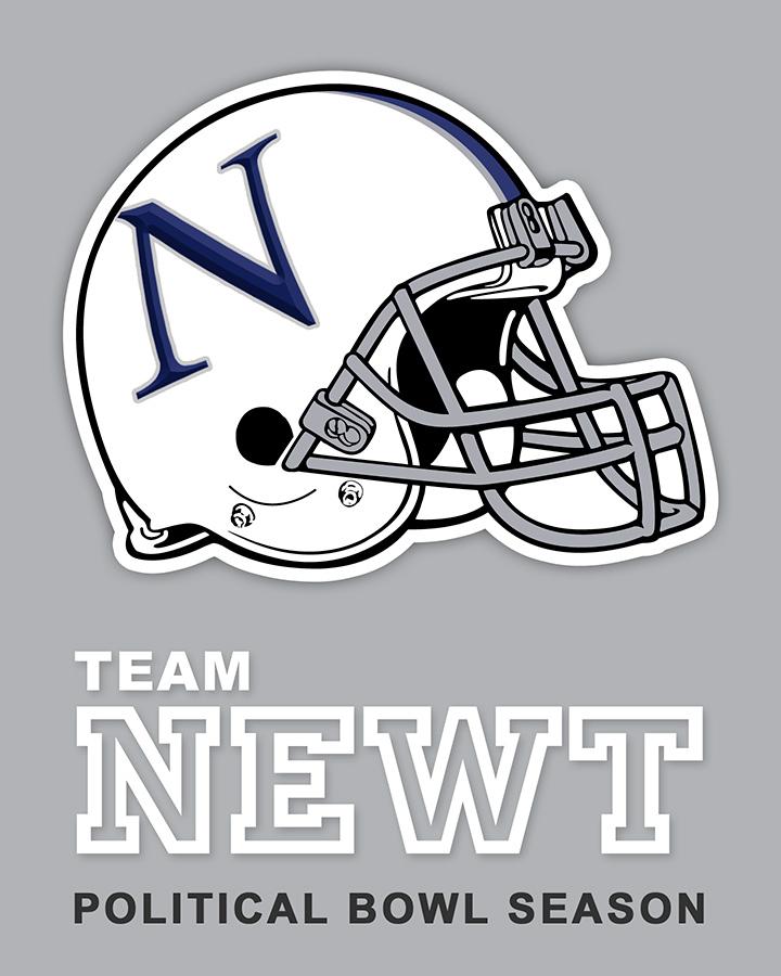 Team Newt sticker design