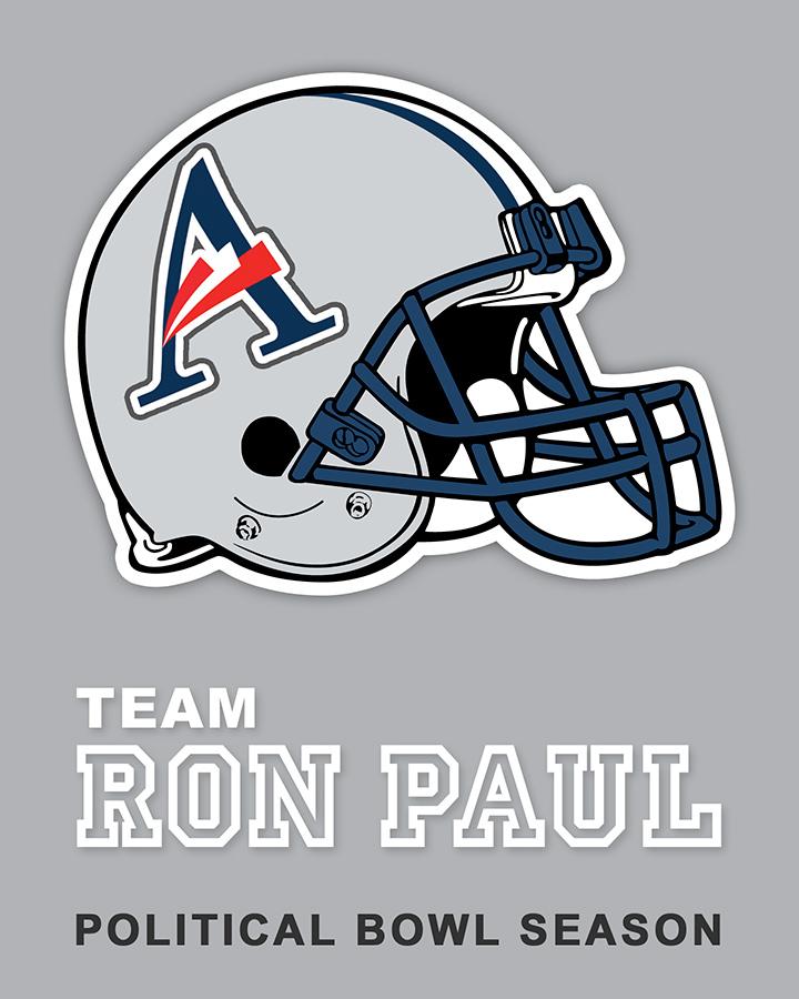 Team Paul sticker design