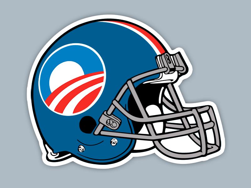 Team Obama helmet design